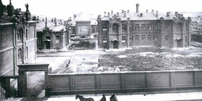 Забор Евгеньевской больницы