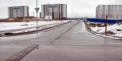 Дорога в Новогорелово