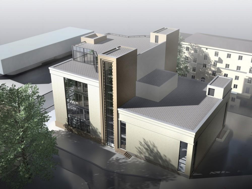 Елецкая улица, 15, проект Удельных бань, вид сверху