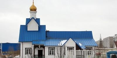 Горелово, улица Коммунаров, 145, церковь Фаддея