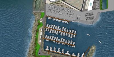 Лахта, яхт-клуб Геркулес, схема