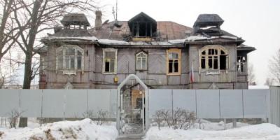 Левашово, Железнодорожная улица, дом 38, после пожара