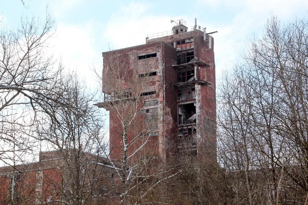 Московское шоссе, 30, мясокомбинат Кирова, башня