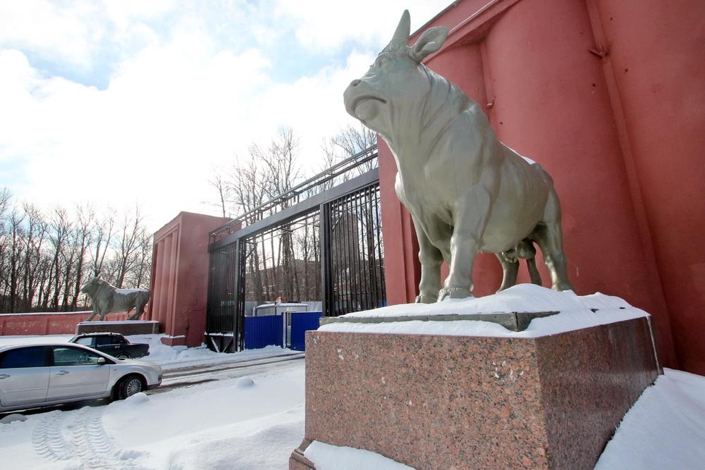 Московское шоссе, 30, мясокомбинат Кирова, ворота