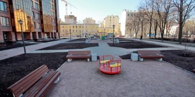 Прилукский сквер, новый участок