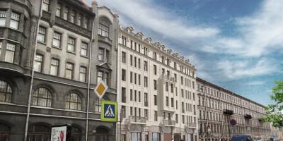 Садовая улица, 53, проект гостиницы