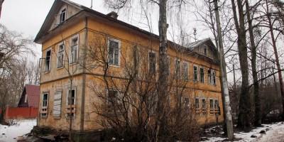 Сестрорецк, улица Коммунаров, 17, вид из Зоологического переулка
