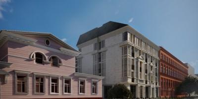 12-я линия, особняк Бремме и новая гостиница