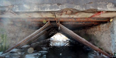 Александровская, Волхонское шоссе, под мостом