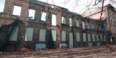 Державинский переулок, 5, снос, демонтаж здания