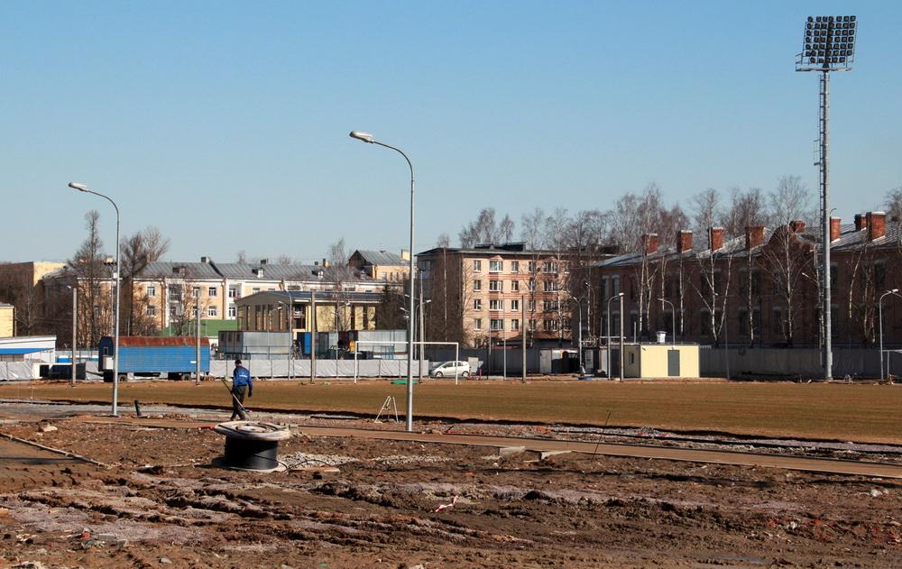 Ломоносов, Михайловская улица, 29, стадион