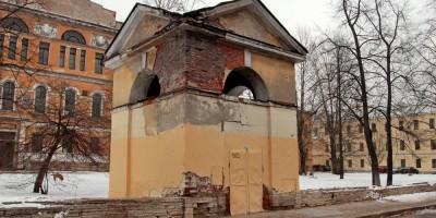 Расстанная улица, часовня при Николаевском доме призрения