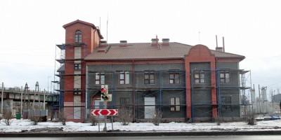 Станция Лигово, пост электрической централизации