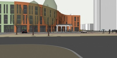 Улица Бутлерова, гостиница, проект