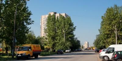 Улица Георгия Гречко в Петербурге