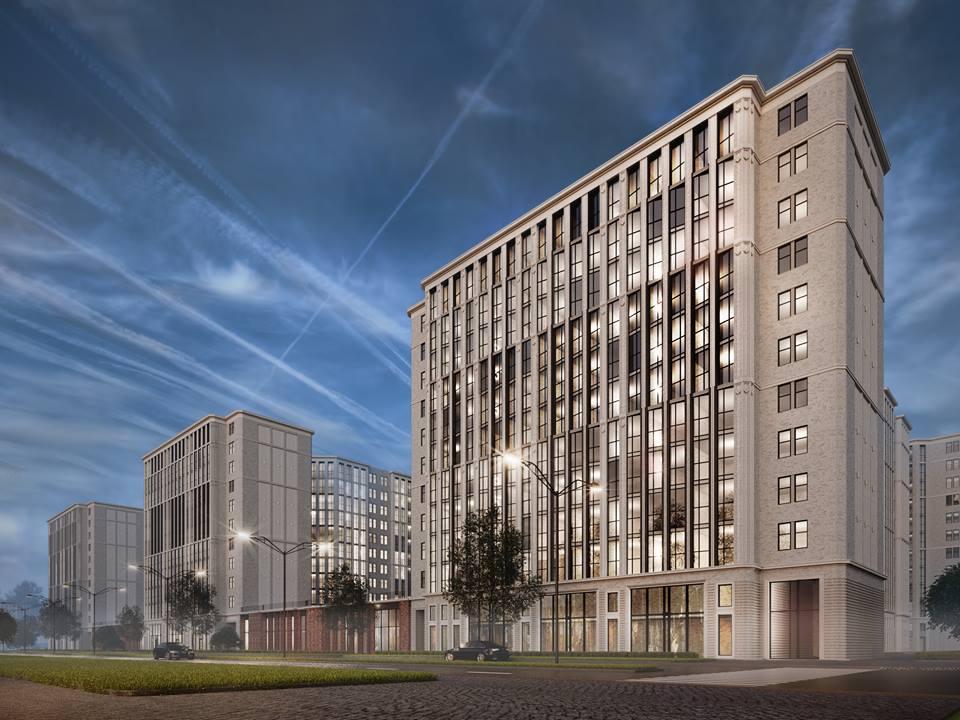 Улица Михаила Дудина, 15, корпус 1, проект жилого комплекса