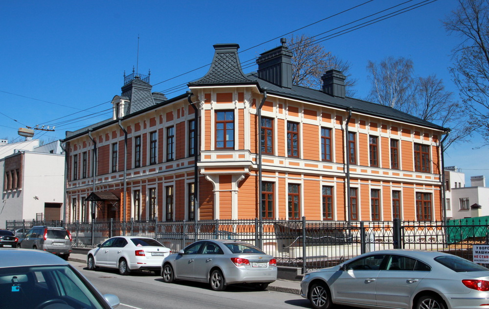 Дом Петровских на Малой улице, 42, в Пушкине