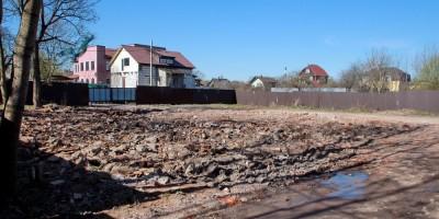 Красное Село, проспект Ленина, 99, после сноса
