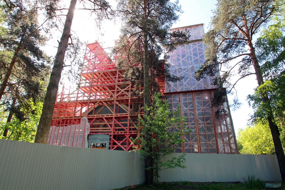 Лахта, церковь Петра, реконструкция