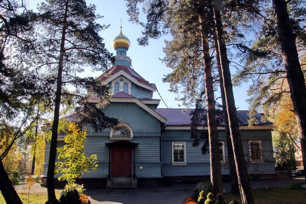 Лахта, Лахтинский проспект, 94, церковь апостола Петра