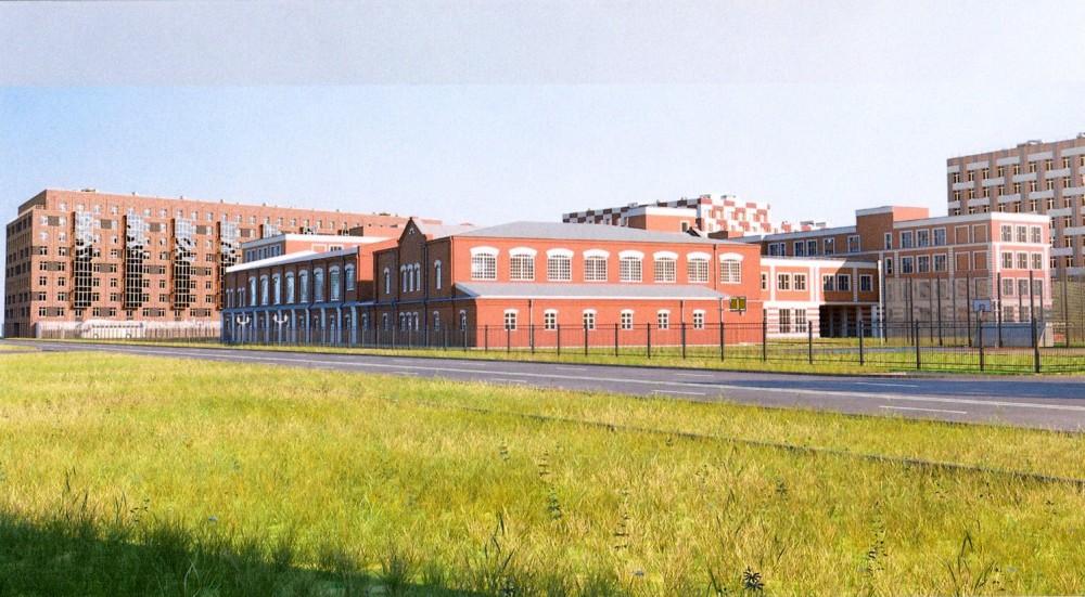 Петровский проспект, 9, школа, воссозданный корпус