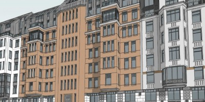 Проспект Бакунина, 31-33, проект средней части