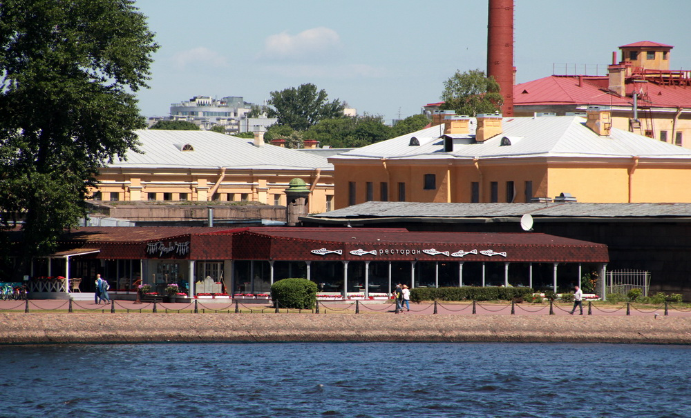 Ресторан Корюшка в Петропавловской крепости