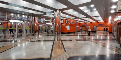 Станция Беговая, подземный переход
