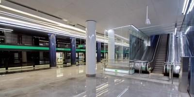 Станция Новокрестовская, перрон