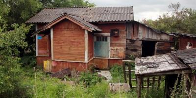 Александровская, деревянный дом возле Рехколовского переулка