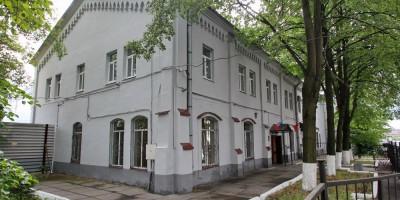 Боткинская улица, здание линейного пункта полиции, сбоку