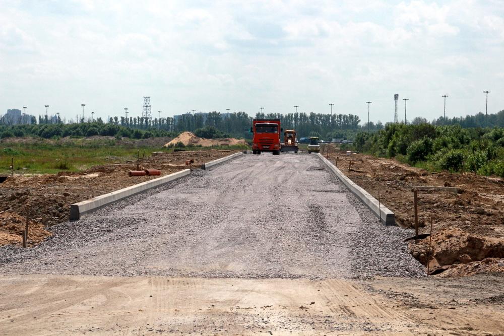 Чарушинская улица, строительство