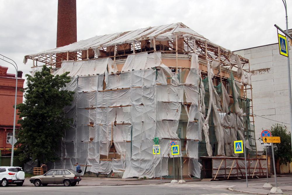 Казарменный переулок, 2, реконструкция