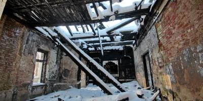 Красное Село, Октябрьская улица, 13а, Дом культуры после пожара