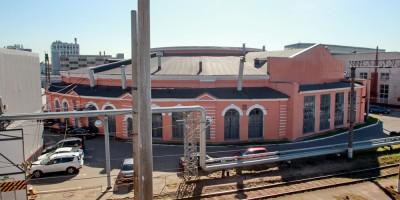 Круглое поворотное депо Московского вокзала