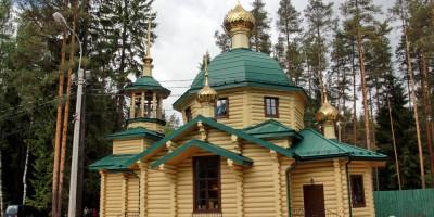 Левашово, Горское шоссе, 143, корпус 2, церковь Всей Святых