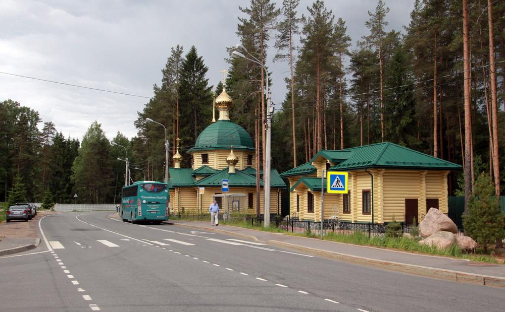 Левашово, Горское шоссе