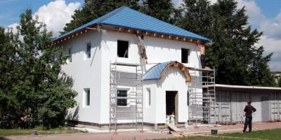 Малоохтинский проспект, 52, строительство приходской школы
