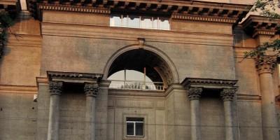 Московский проспект, 98, центральный портал