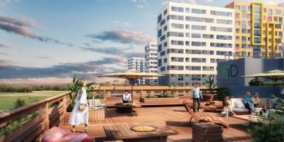 Мурино, проект жилого комплекса, двор