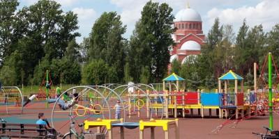 Муринский парк, детская площадка