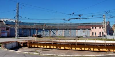 Невский проспект, дом 85, литера БО, депо с задней стороны