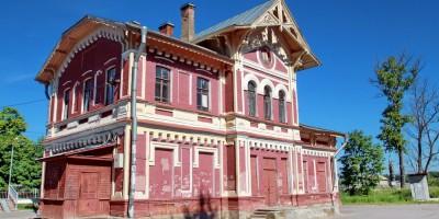 Станция Можайская в Дудергофе