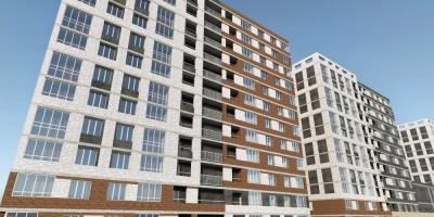 Уездный проспект, проект жилого комплекса, фасад