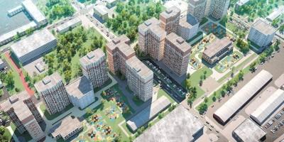 Уездный проспект, проект жилого комплекса сверху