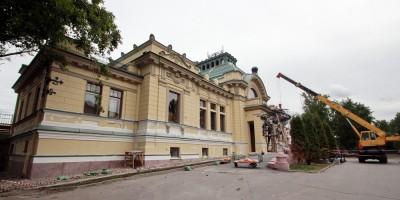 Императорский павильон Витебского вокзала