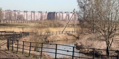 Детскосельский, река Славянка