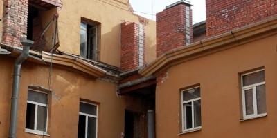 Люблинский переулок, надстройка этажа