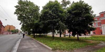 Малый проспект Васильевского острова, сквер