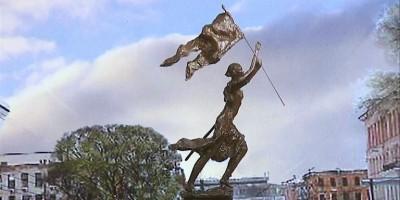 Памятник Жанне дАрк